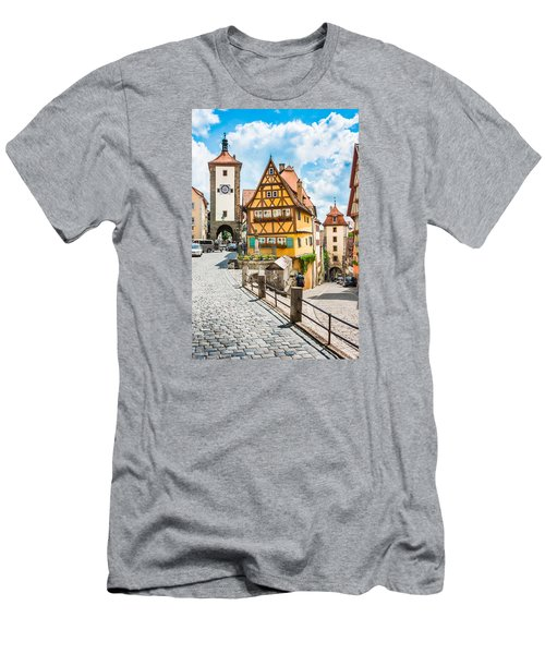 Rothenburg Ob Der Tauber Men's T-Shirt (Athletic Fit)