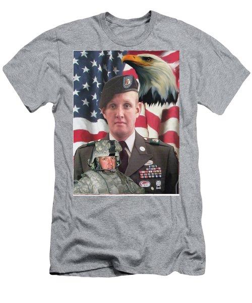 Texas Hero Men's T-Shirt (Athletic Fit)