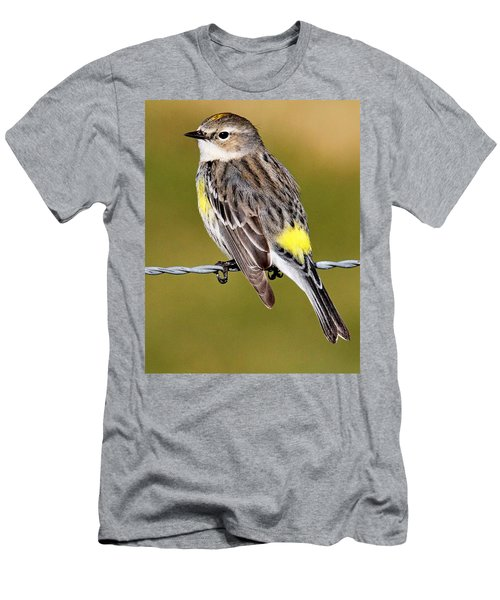 Yellow-rumped Warbler Men's T-Shirt (Athletic Fit)
