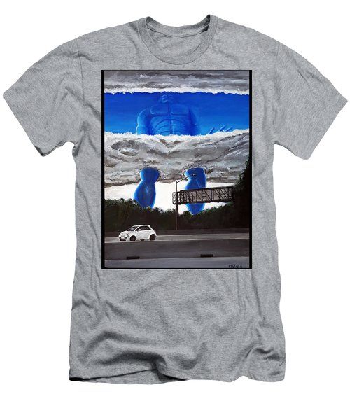 405 N. At Roscoe Men's T-Shirt (Slim Fit) by Chris Benice