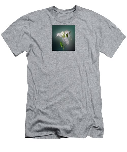 Men's T-Shirt (Slim Fit) featuring the photograph 4371 by Peter Holme III