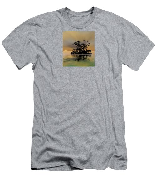 Men's T-Shirt (Slim Fit) featuring the photograph 4374 by Peter Holme III
