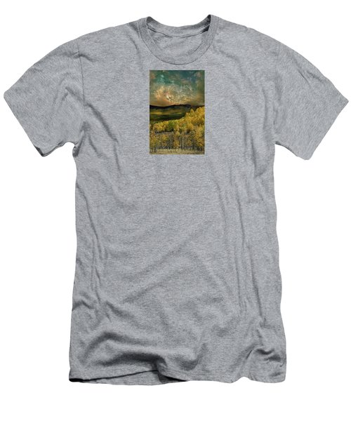 Men's T-Shirt (Slim Fit) featuring the photograph 4394 by Peter Holme III