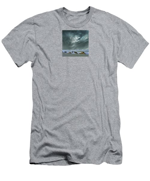 Men's T-Shirt (Slim Fit) featuring the photograph 4399 by Peter Holme III