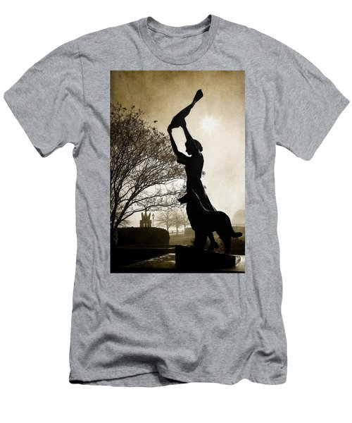 44 Years Of Waving Men's T-Shirt (Slim Fit) by Renee Sullivan