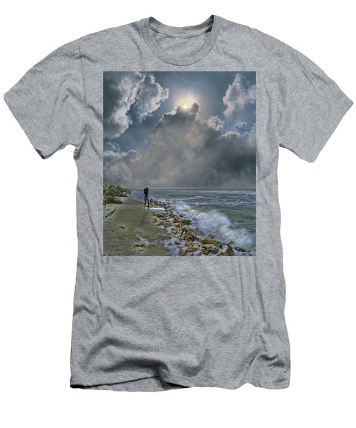 Men's T-Shirt (Slim Fit) featuring the photograph 4405 by Peter Holme III
