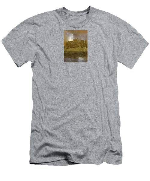 Men's T-Shirt (Slim Fit) featuring the photograph 4411 by Peter Holme III
