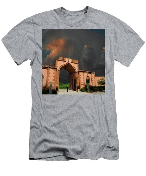 Men's T-Shirt (Athletic Fit) featuring the photograph 4470 by Peter Holme III