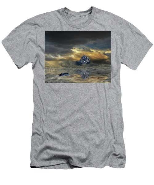 Men's T-Shirt (Athletic Fit) featuring the photograph 4471 by Peter Holme III