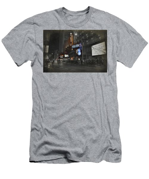 44th Street Nyc Men's T-Shirt (Slim Fit) by Dyle Warren