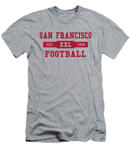 49ers Retro Shirt Men's T-Shirt (Athletic Fit)