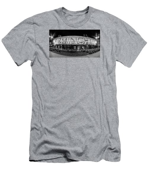 April 2015 - Birmingham Alabama Regions Field Minor League Baseb Men's T-Shirt (Slim Fit) by Alex Grichenko