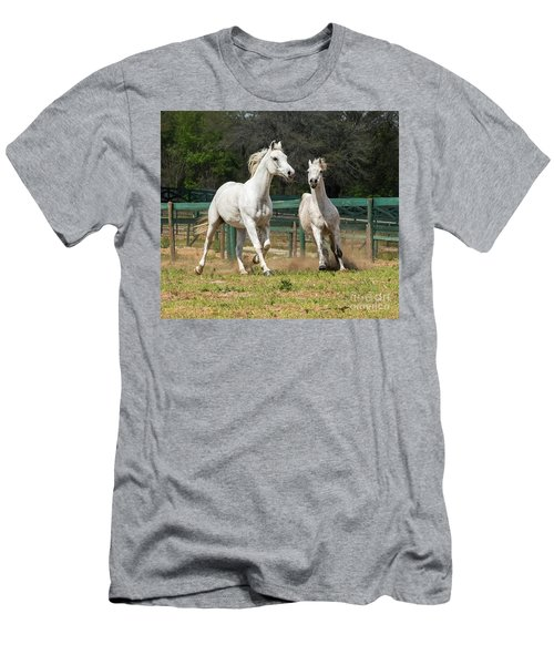 Arabian Horse Men's T-Shirt (Athletic Fit)