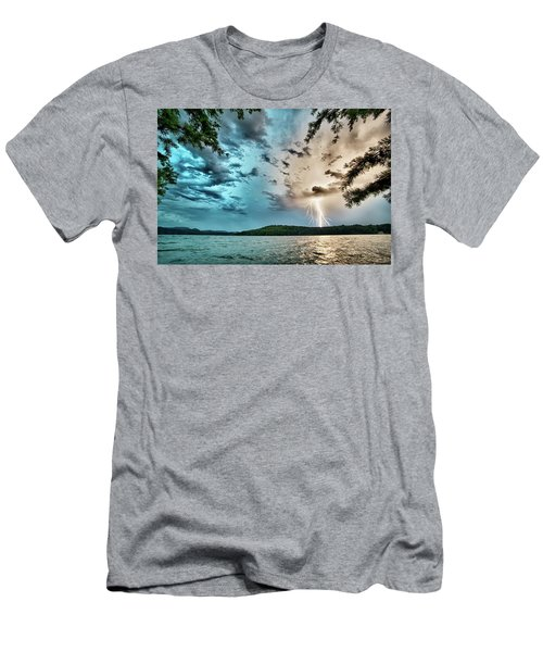 Beautiful Landscape Scenes At Lake Jocassee South Carolina Men's T-Shirt (Athletic Fit)