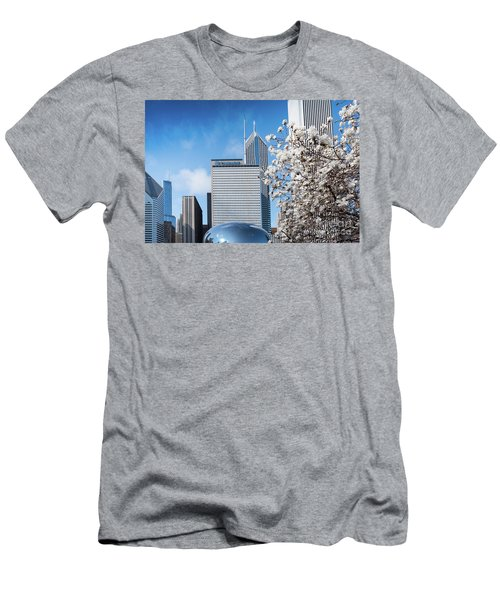 Chicago Bean Millenium Park Men's T-Shirt (Athletic Fit)