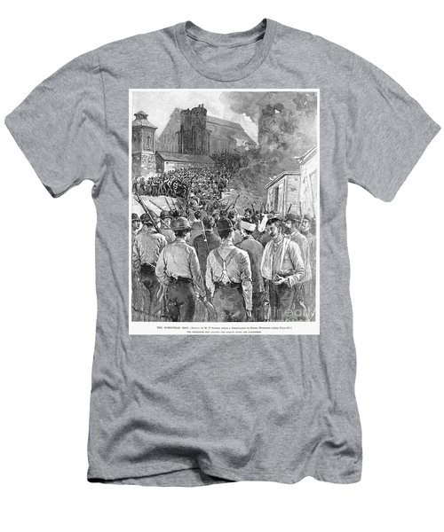 Homestead Strike, 1892 Men's T-Shirt (Athletic Fit)