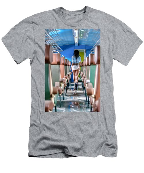 Take A Litte Trip Men's T-Shirt (Athletic Fit)