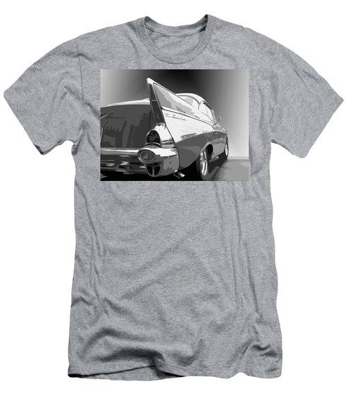 57 Chevy Horizontal Men's T-Shirt (Athletic Fit)