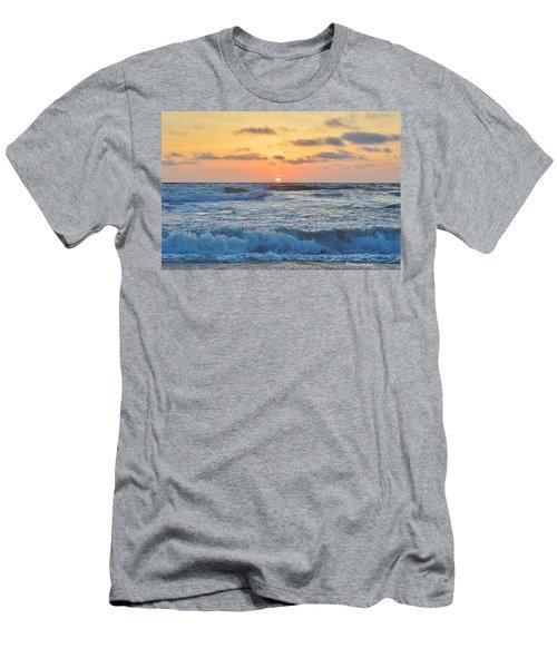 6/26 Obx Sunrise Men's T-Shirt (Athletic Fit)