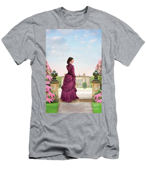 Beautiful Victorian Woman Men's T-Shirt (Athletic Fit)