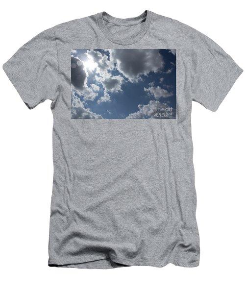 Men's T-Shirt (Athletic Fit) featuring the photograph 6-gon Boken Sky by Megan Dirsa-DuBois