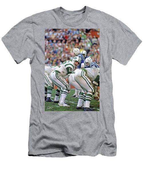 fb1914307 Joe Namath Men s T-Shirt (Athletic Fit)