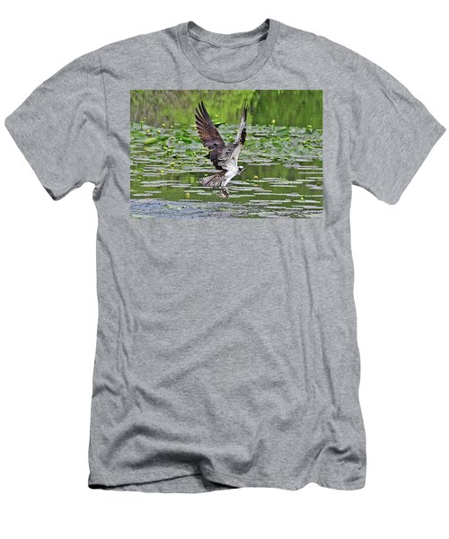 Osprey Fishing Men's T-Shirt (Athletic Fit)