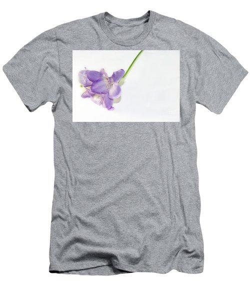 Purple Freesia Men's T-Shirt (Athletic Fit)