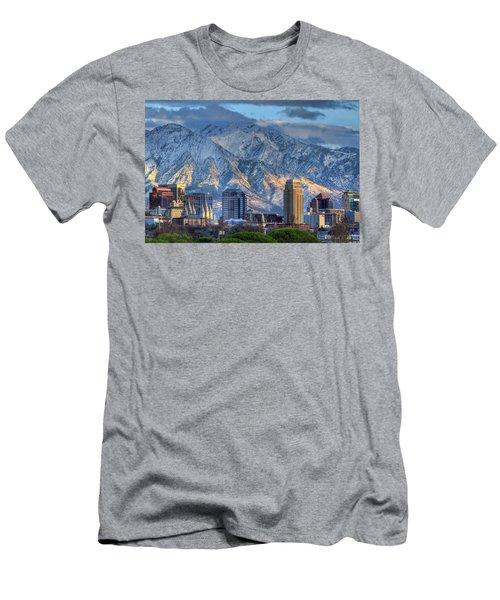 Salt Lake City Utah Usa Men's T-Shirt (Athletic Fit)