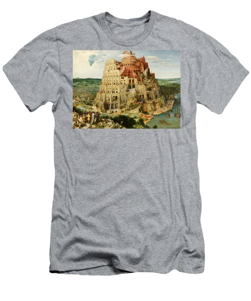 The Tower Of Babel  Men's T-Shirt (Athletic Fit)