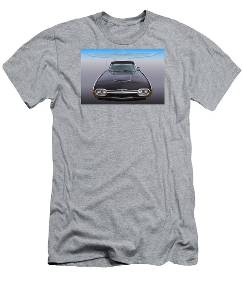 Men's T-Shirt (Slim Fit) featuring the photograph 63 Tbird by Keith Hawley