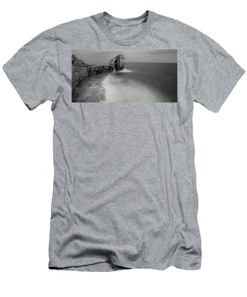Portland Bill Seascapes Men's T-Shirt (Athletic Fit)