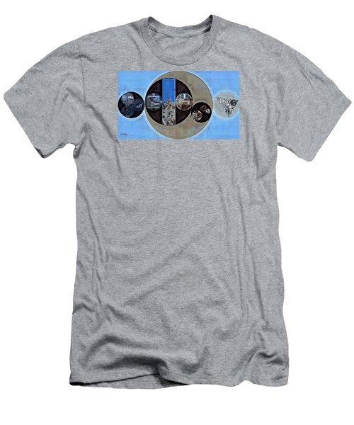 Abstract Painting - Onyx Men's T-Shirt (Slim Fit) by Vitaliy Gladkiy