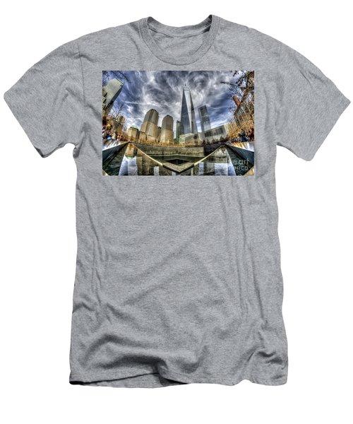 9/11 Memorial - Nyc Men's T-Shirt (Athletic Fit)