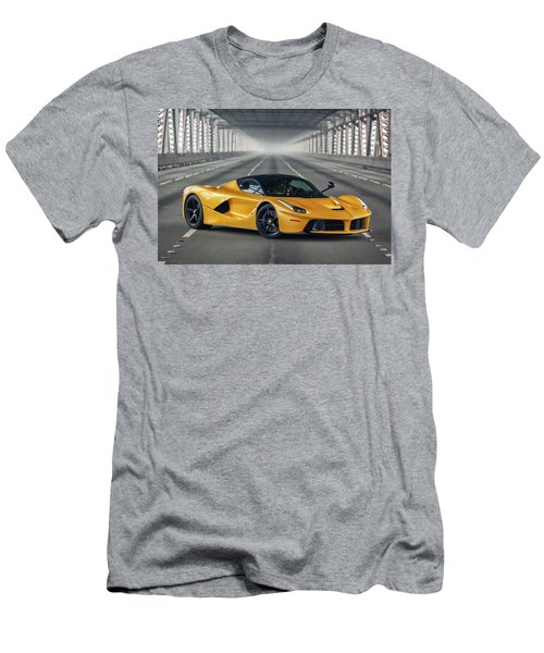 #ferrari #laferrari Men's T-Shirt (Athletic Fit)