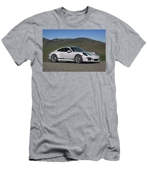 #porsche #911r #print Men's T-Shirt (Athletic Fit)