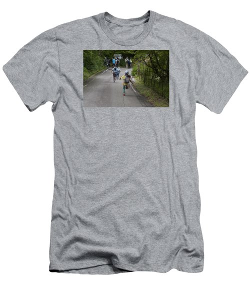 Run Men's T-Shirt (Athletic Fit)