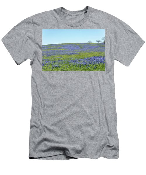Texas Bluebonnets 12 Men's T-Shirt (Athletic Fit)