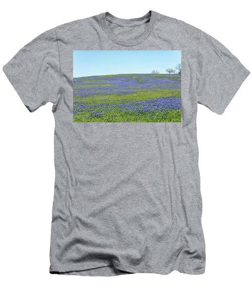 Texas Bluebonnets 12 Men's T-Shirt (Athletic Fit)