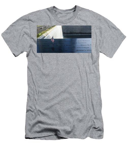 911 Memorial Pool-6 Men's T-Shirt (Athletic Fit)