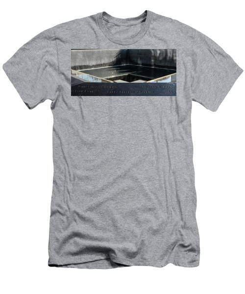 911 Memorial Pool-8 Men's T-Shirt (Athletic Fit)