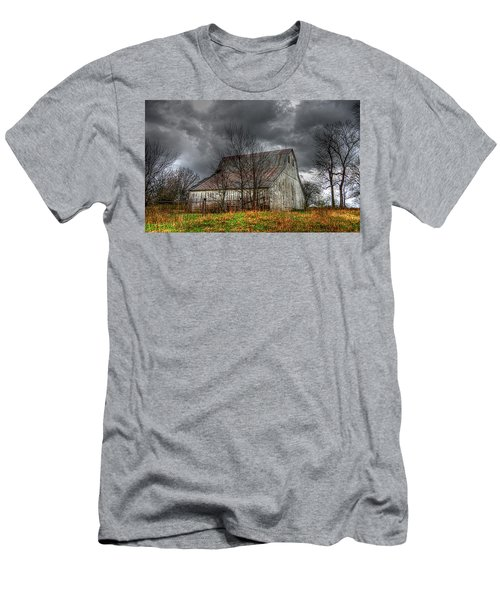 A Barn In The Storm 3 Men's T-Shirt (Slim Fit) by Karen McKenzie McAdoo