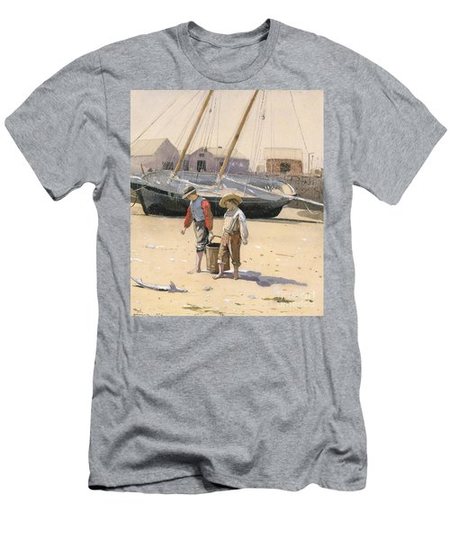 A Basket Of Clams, 1873 Men's T-Shirt (Athletic Fit)