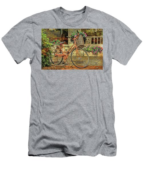 A Basketful Of Spring Men's T-Shirt (Athletic Fit)
