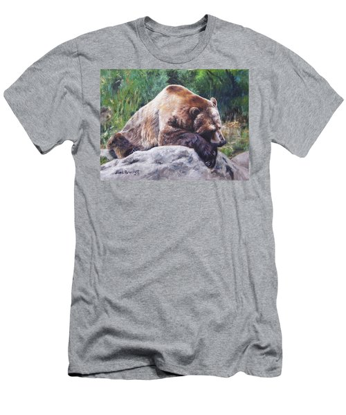 A Bear Of A Prayer Men's T-Shirt (Athletic Fit)