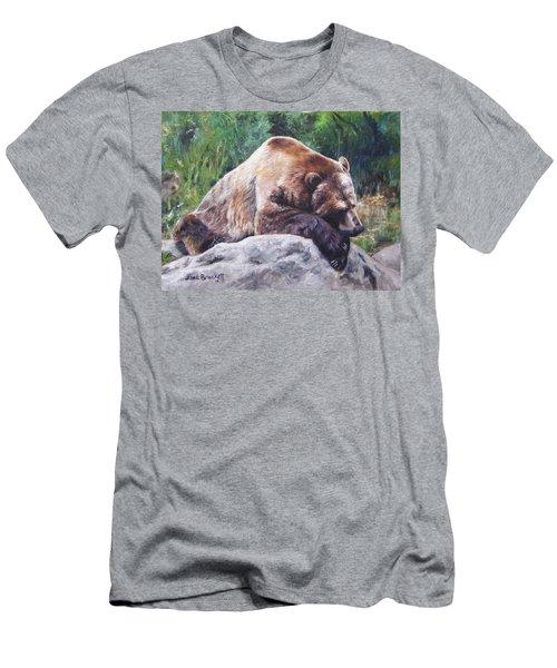 A Bear Of A Prayer Men's T-Shirt (Athletic Fit)
