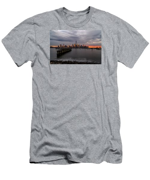 Men's T-Shirt (Slim Fit) featuring the photograph A Blaze Of Glory by Anthony Fields