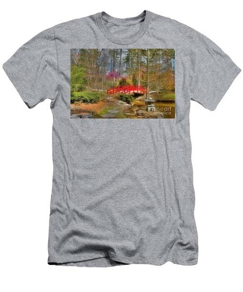 A Bridge To Spring Men's T-Shirt (Athletic Fit)