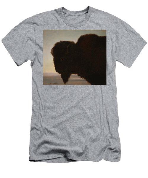 A Bull Buffalo Men's T-Shirt (Athletic Fit)