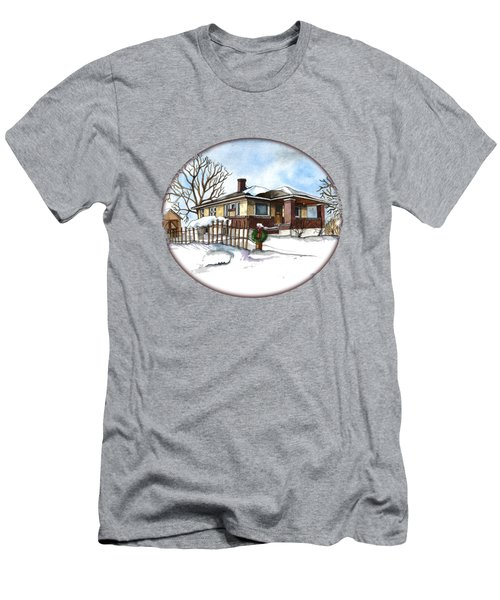 A Bungalow In The Country Men's T-Shirt (Athletic Fit)